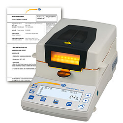 Absolute Moisture Meter PCE-MA 202-ICA incl. ISO Calibration Certificate