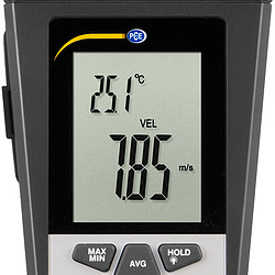 Air Flow Meter PCE-VA 11 display