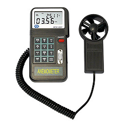 Air Velocity Meter incl. ISO Cal Certificate PCE-007-ICA