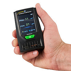 Airborne Particle-Counting Hygiene Meter PCE-RCM 10
