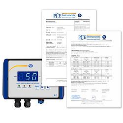 Anemometer PCE-WSAC 50-710 with certificates