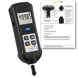 Automotive Tester / Tachometer PCE-T 260-ICA Incl. ISO Calibration Certificate