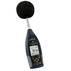 Class 2 Data-Logging Decibel Meter PCE-428