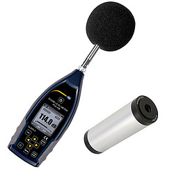 Class 2 Data Logging Noise Meter / Sound Meter Kit PCE-428-KIT