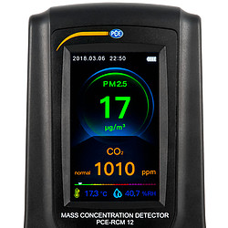 CO2 Analyzer PCE-RCM 12