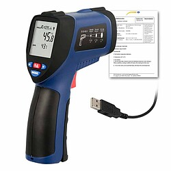 Condition Monitoring Infrared Thermometer PCE-890U-ICA incl. ISO Calibration Certificate