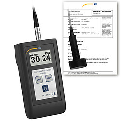 Condition Monitoring Surface Tester PCE-CT 90 Incl. ISO Calibration Certificate