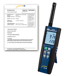 Dew Point Thermometer PCE-330-ICA Incl. ISO Calibration Certificate