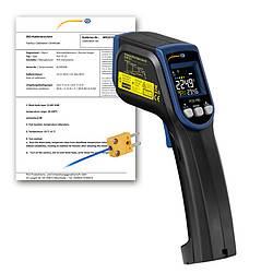 Digital Infrared Thermometer PCE-780-ICA incl. ISO Calibration Certificate