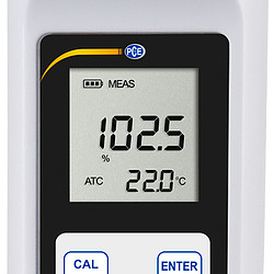 Dissolved Oxygen Meter PCE-WO2 10 - display