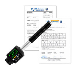 Durometer for Metals with ISO Calibration Certificate PCE-2500N-ICA