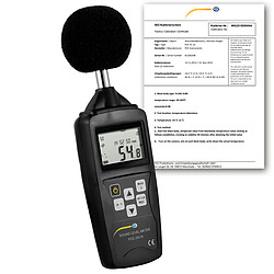 Environmental Meter PCE-353N-ICA Incl. ISO Calibration Certificate