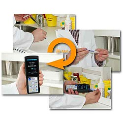Food Safety / Hygiene - ATP Surface Tester PCE-ATP 1 Measurement Steps