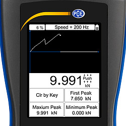 Force Gauge PCE-DFG NF 10K Incl. ISO Calibration Certificate