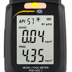 VOC Gas Detector PCE-VOC 1 Display