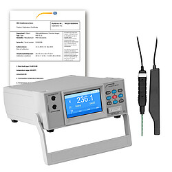 Gauss Meter PCE-MFM 4000-ICA Incl. ISO Calibration Certificate