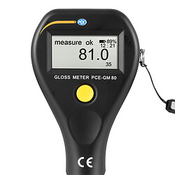 Gloss Meter PCE-GM 80 display