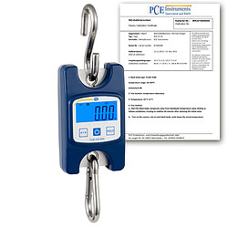 Hanging Scales PCE-HS 50N-ICA incl. ISO Calibration Certificate