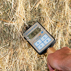 Hay Moisture Analyzer close up.