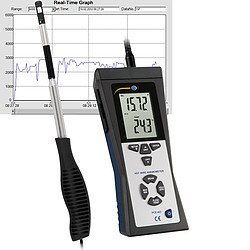 Hot-Wire Anemometer PCE-423