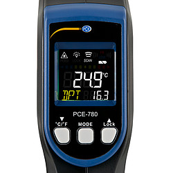 Humidity Detector PCE-780-ICA incl. ISO Calibration Certificate