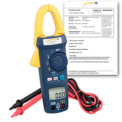 HVAC Meter PCE-DC 41-ICA incl. ISO Calibration Certificate