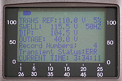 HVAC Meter PCE-GPA 62 display