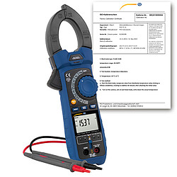 HVAC Meter PCE-HVAC 6-ICA incl. ISO Calibration Certificate