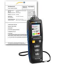 HVAC Meter PCE-VT 1300-ICA incl. ISO Calibration Certificate