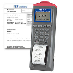 Infrared Thermometer PCE-JR 911-ICA incl. ISO Calibration Certificate