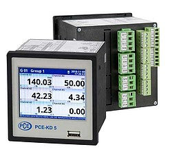 Multi Channel Data Logger PCE-KD5