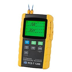 Multi Channel Temperature Data Logger PCE-T 1200