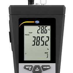 Multifunction Air Flow Meter PCE-HVAC 2 display