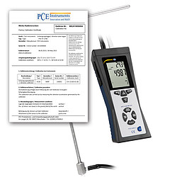 Multifunction Air Flow Meter PCE-HVAC 2-ICA with ISO Certificate