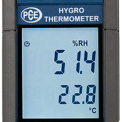 Mulitfunction Relative Humidity Meter PCE-330 Display
