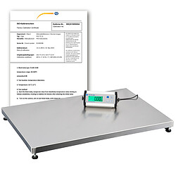 Parcel Scale PCE-PS 150XL-ICA incl. ISO Calibration Certificate