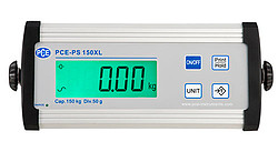 Parcel Scale PCE-PS 150XL display