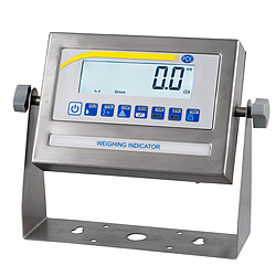 Parcel Scale PCE-RS 2000 display