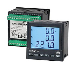 3-phase-power meter PCE-ND10