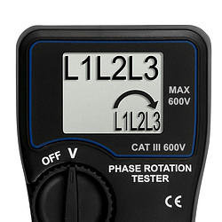 Phase Rotation Meter PCE-PI 10