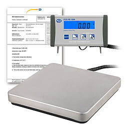 Platform Scale PCE-PB 150N-ICA Incl. ISO Calibration Certificate