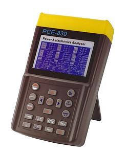 Power analyzer PCE-830-2 solo