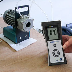 Differential Pressure Meter PCE-P05 application
