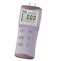 Pressure Meter PCE-P15-ICA Incl. ISO Calibration Certificate