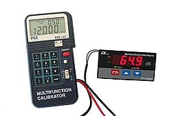 Process calibrator PCE-123 application sound