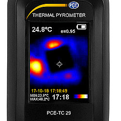 Thermal Imager Camera PCE-TC 29 Screen