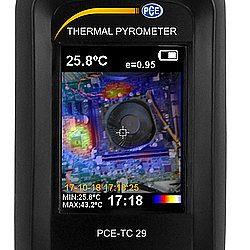 Thermal Imager Camera PCE-TC 29 Picture