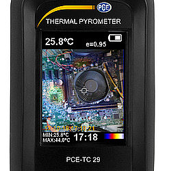 Thermal Imager Camera PCE-TC 29 Imaging