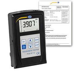 Roughness Tester Incl. ISO Calibration Certificate - Overview