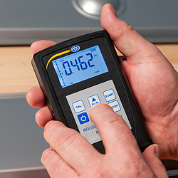 Roughness Tester Incl. ISO Calibration Certificate - Application